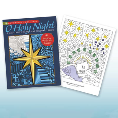 O Holy Night Colouring Book