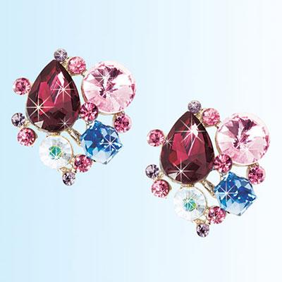 Brilliant Clustre Earrings