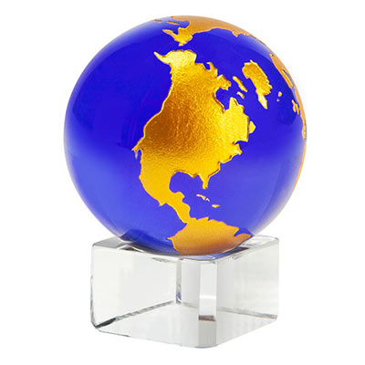 Crystal Globe with Stand