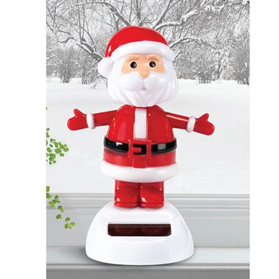 Solar Waving Santa