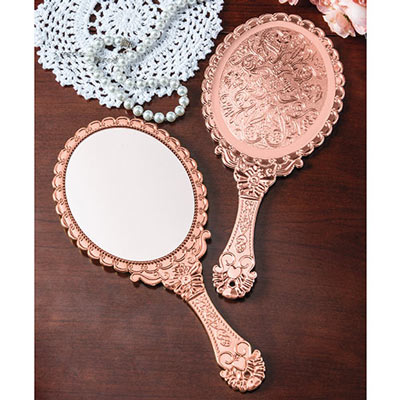 Copper Hand Mirror