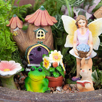 Welcome Fairy Garden Set