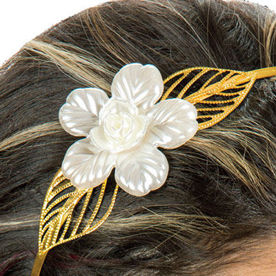 Shimmering Flower Headband