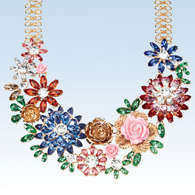 Lavish Garden Necklace