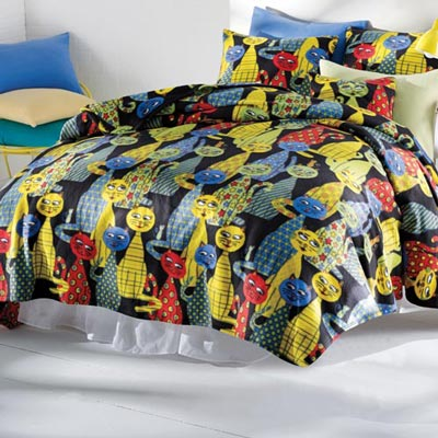 Krazy Katz Fleece Blankets & Accessory