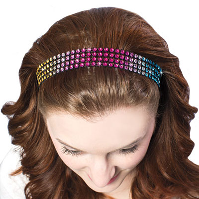 Rainbow Bling Headband