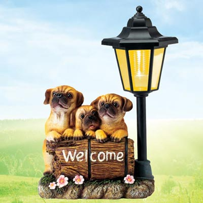 Pug Solar Lantern
