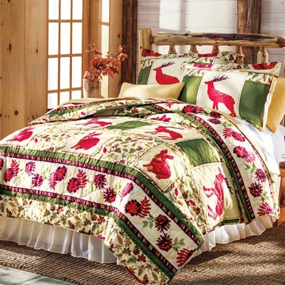 Woodland Friends Quilt Set