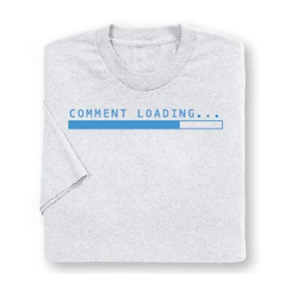 Comment Loading Tee