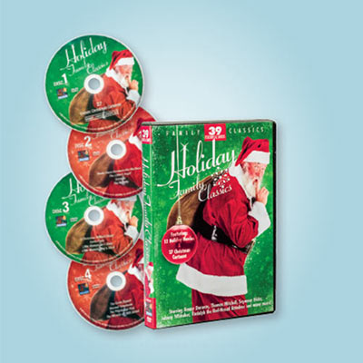 39 Holiday Classics DVDs