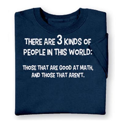 3 Kinds of People Tee