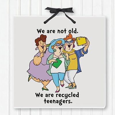 Teenagers Plaque