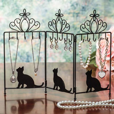 Purr-fect Jewellery Holder