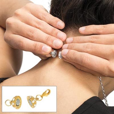 Gold-tone Perfectly Easy Jewellery Clasp