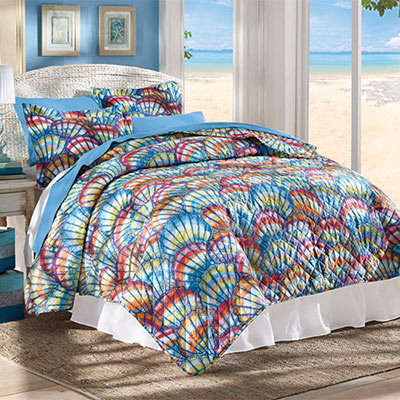 Captiva Island Quilt Set & Accessories