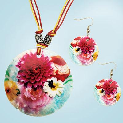 Artisan Bouquet Shell Jewellery Set