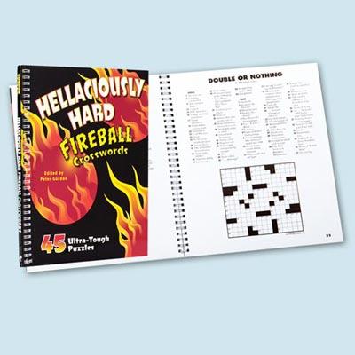 Hellaciously Hard Fireball Croswords
