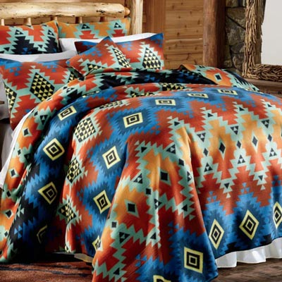 Prairie Sunset Fleece Blankets & Accessories
