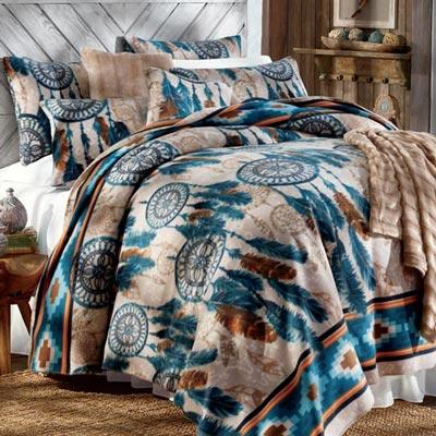Dream Catcher Fleece Blanket & Accessories