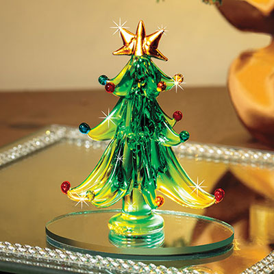 Art Glass Christmas Tree
