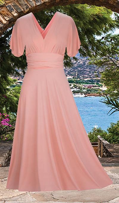 Figure Flattering Convertible Dress