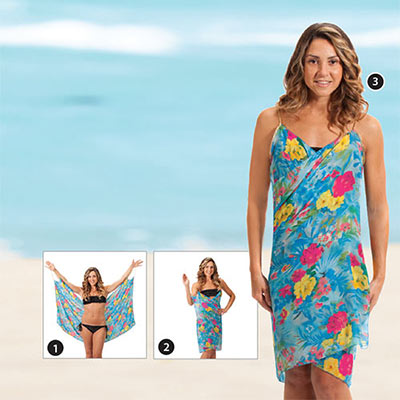 Tropical Garden Cover-Up
