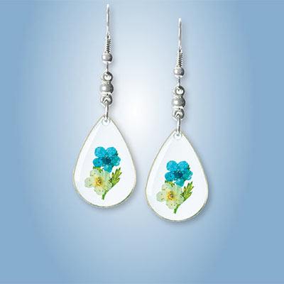 Forget-Me-Not Bouquet Earrings