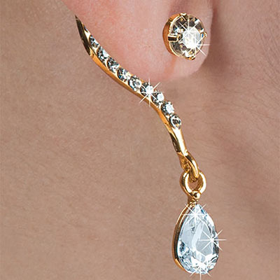 Dainty Wrap Earring with Jacket