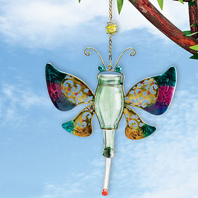 Colourful Butterfly Hummingbird Feeder