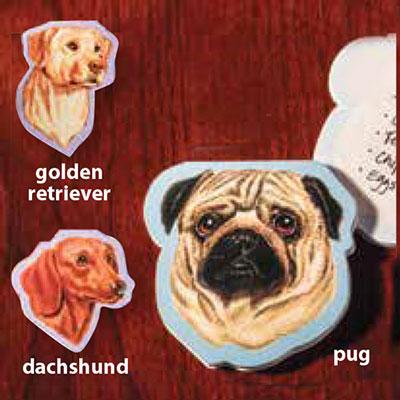 Dog Sticky Note Pad - Set of 2