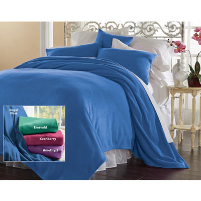Solid Fleece Blankets Accessories The Added Touch Catalogue