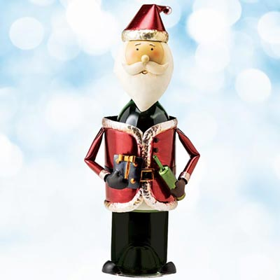 Santa Wine Bottle Holder
