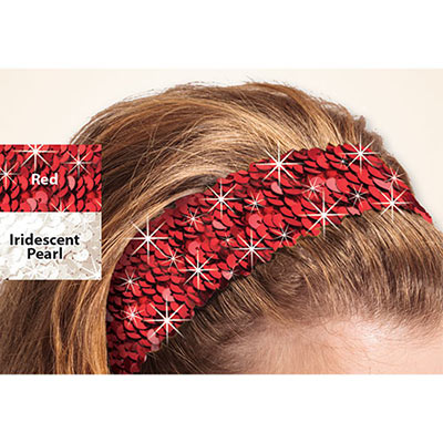 Snazzy Sequined Headband