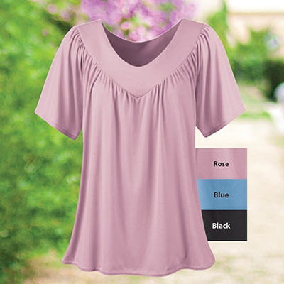 Pure Comfort V-Neck Top