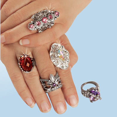 Victorian Ring Collection