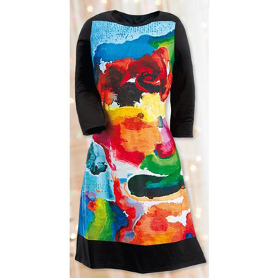 Colourful Inspirations Dress