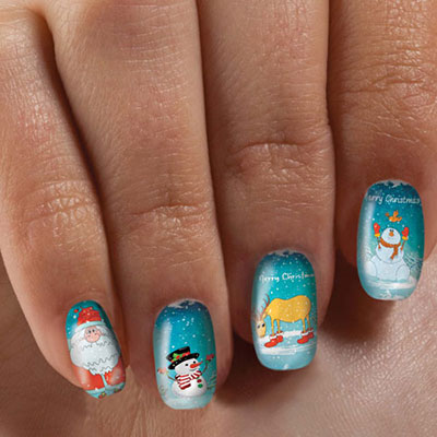 'Tis the Season Nail Appliqués