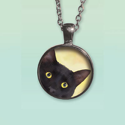 Cute Kitty Necklace