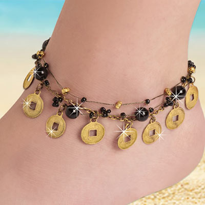 Lucky Coin Anklet