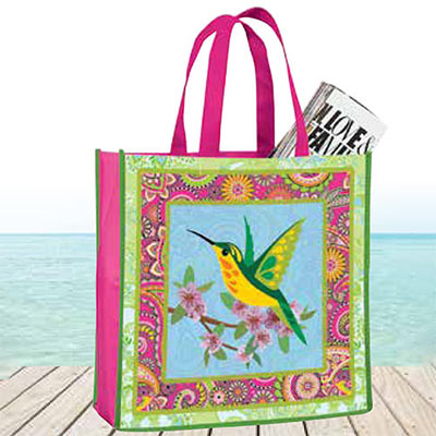 Colourful Hummingbird Tote