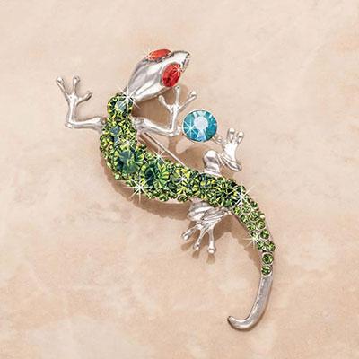 Brilliant Gecko Pin