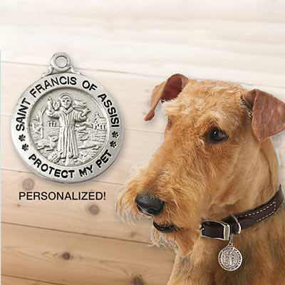 Personalized Protect Your Pet Tag