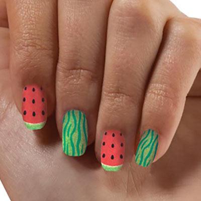 Watermelon Nail Appliqués