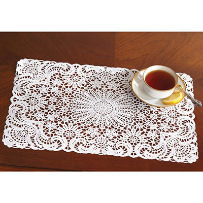 Faux Crocheted Placemats