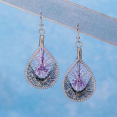 Mountain Spirit Dreamcatcher Earrings