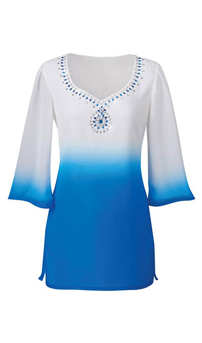 Blue Horizon Tunic