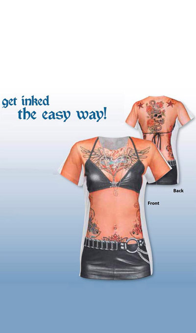 Women's Faux Tattoo Tee