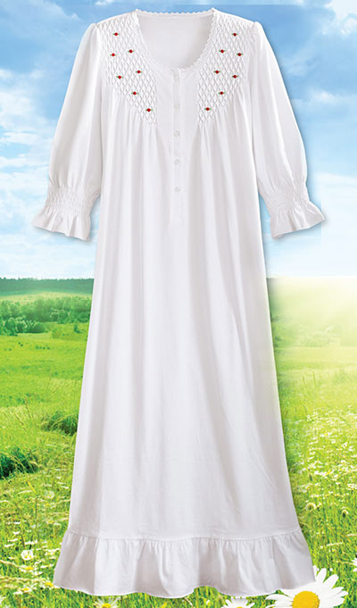 Rosebud Nightgown