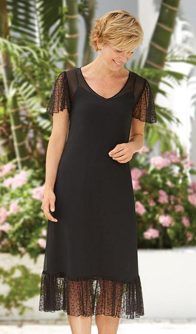 Sheer Elegance Dress