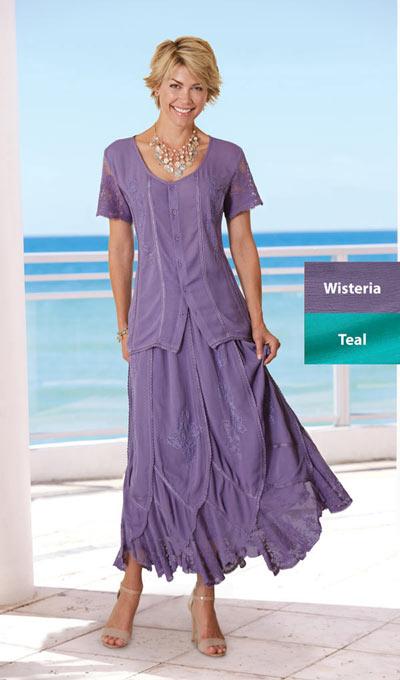 Irresistible Lace Embellished Maxi Skirt